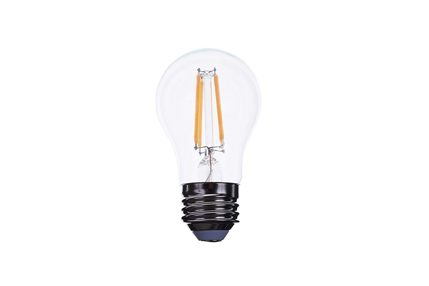 Goodlite G-19754 5W A15 LED Light 500 Lumens 60W Equivalent E26 Base 3000K Warm White Dimmable Clear,Appliance Bulb, Warm White 3000K