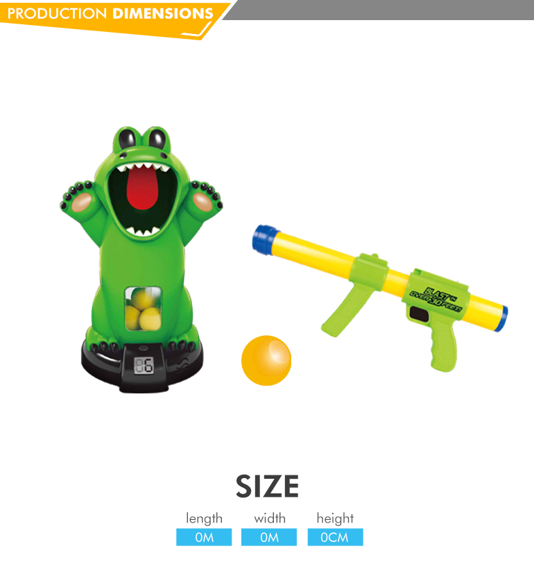 New design kids soft bullet toy gun foam ball for wholesale