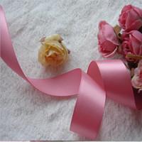 Factory wholesale cheap top quality 100% polyester satin ribbon celebrate it ribbon for making DIY ribbon