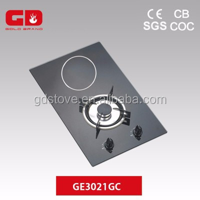 Good quality 2 burner electric ceramic gas grill cooktop