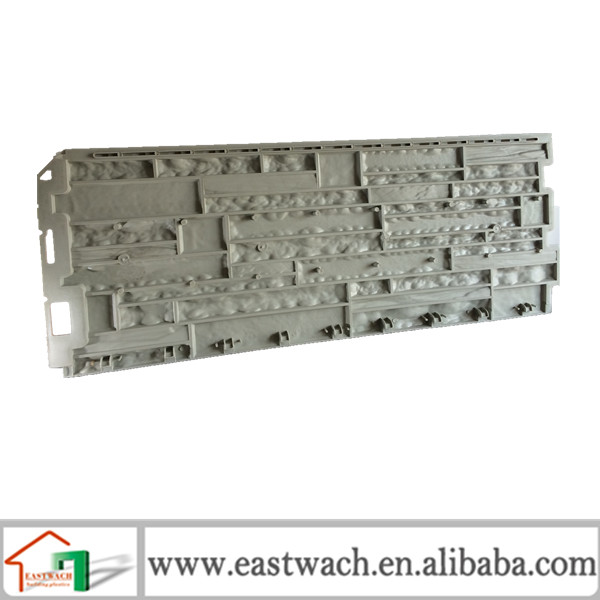 Wall cladding tile system stone molds pvc artificial stone panel for wall