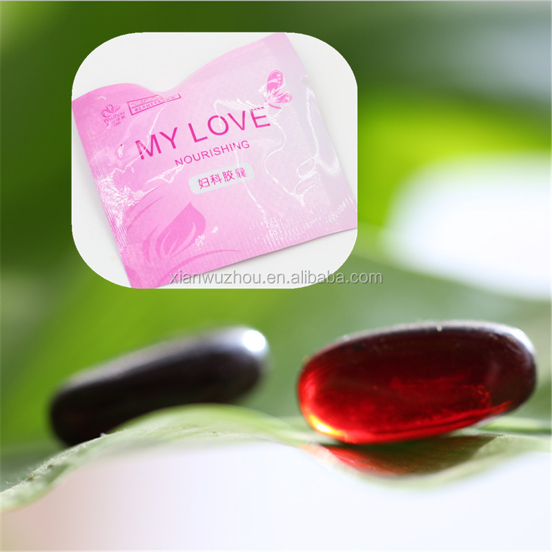 Improving women sex desire tightening vagina soft capsule naturally increase sex powder