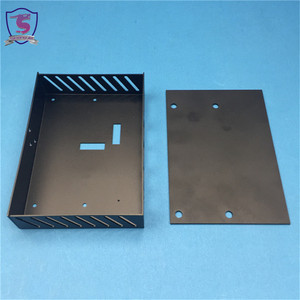 Sheet metal cover aluminum housing box for electronic enclosure