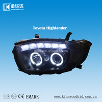 Led Ring Light For Toyota Highlander,Car Head Lamp,Car Accessories ...