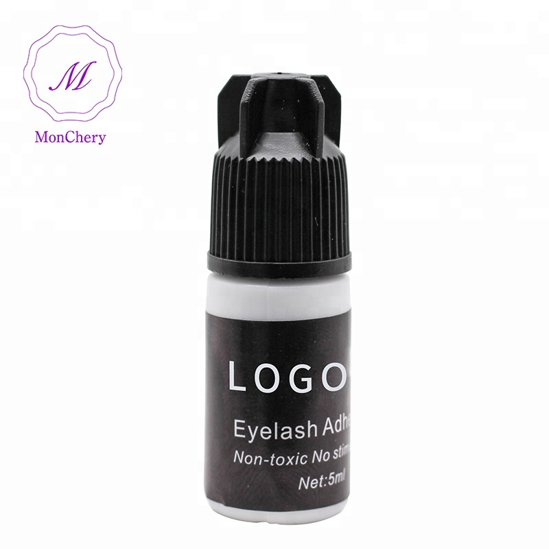Private Label Latex Gratis Lijm voor Wimper Extension Aangepast Ontwerp Adhesive Eyelash Extension Lijm