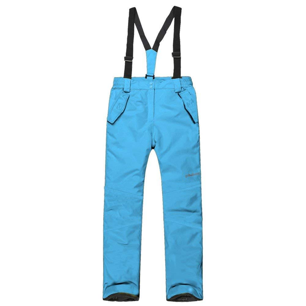 Get Quotations · mansmoer Children s Winter Sport Ski Snow Pants Windproof  Cotton Padded Trousers ec0bbed21