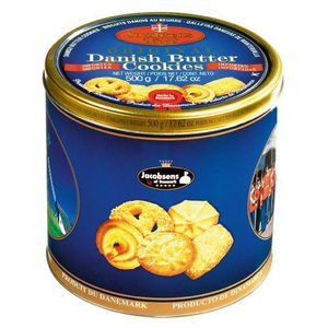 WHITELABEL ORIGINAL DANISH BUTTER COOKIES - Jacobsen of Denmark - Original Danish Butter Cookies - 500 GR