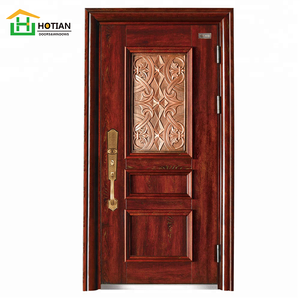 the best safety door fire resistant interior french metal door with luxury handle design