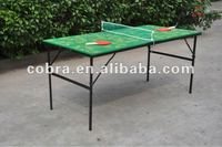 baby ping-pong table,mini table tennis table,kids tennis table for promotion or gifts KBL-12T05