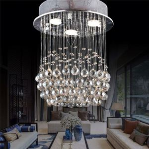 With A Round Shade Chandeliers Pendant Lights Contemporary White Crystal Chandelier