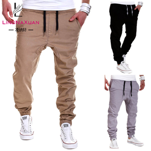 2018 Toppest 3 4 men's short harem 10 pockets cargo legging pants