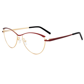 49b35cf3d548 2018 Latest Design Funny Cute Metal Glasses Frames For Women And Girls In  Hot Selling With
