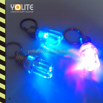 Plastic Mini Led Keychains Keyring Torch, Keychain Flashlight, Led Light Keychains