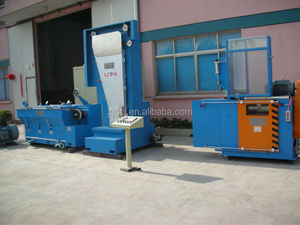 Medium brass wire drawing machine with annealing