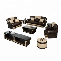 Alibaba Top 10 Hot Selling Design Germany Living Room Divan Furniture Leather Sofa Sets