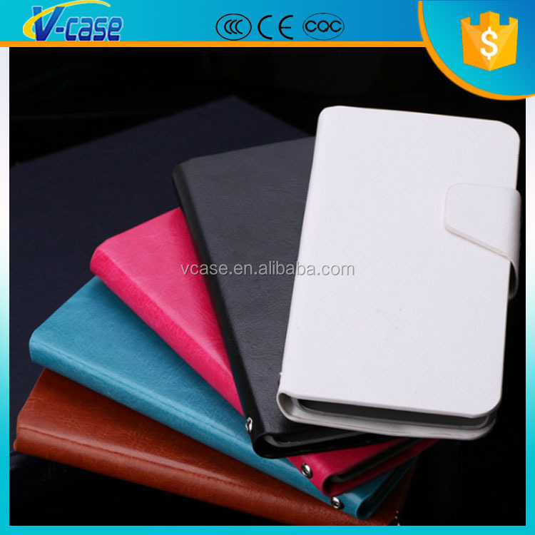 Cheap factory prices!! Shock proof mobile leather phone case for gionee elife e6