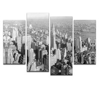 Free Shipping Photography Printing New York City on Canvas Arts