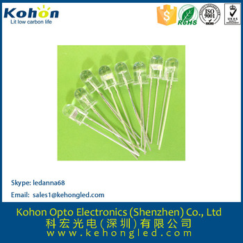 High-brightness 0.5W white color LED diode with professional manufacture in shenzhen