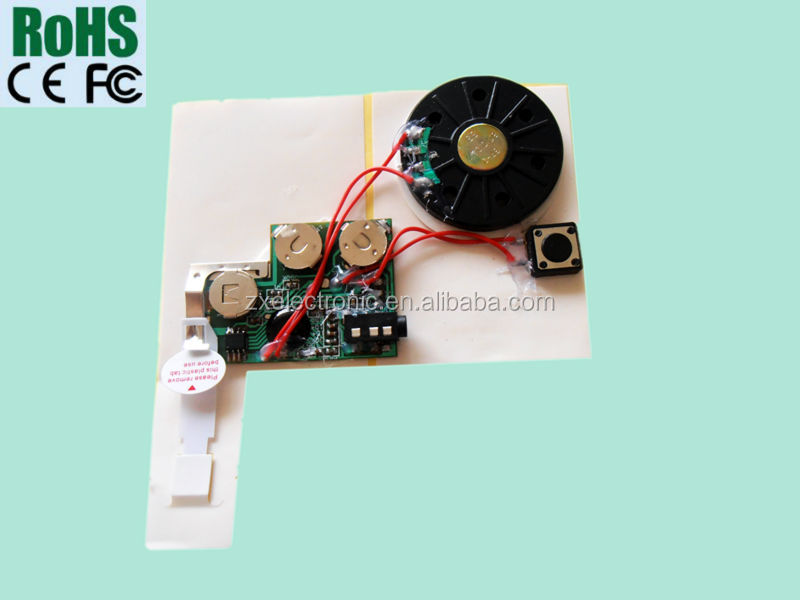 Customized Small Greeting Card Recording Device
