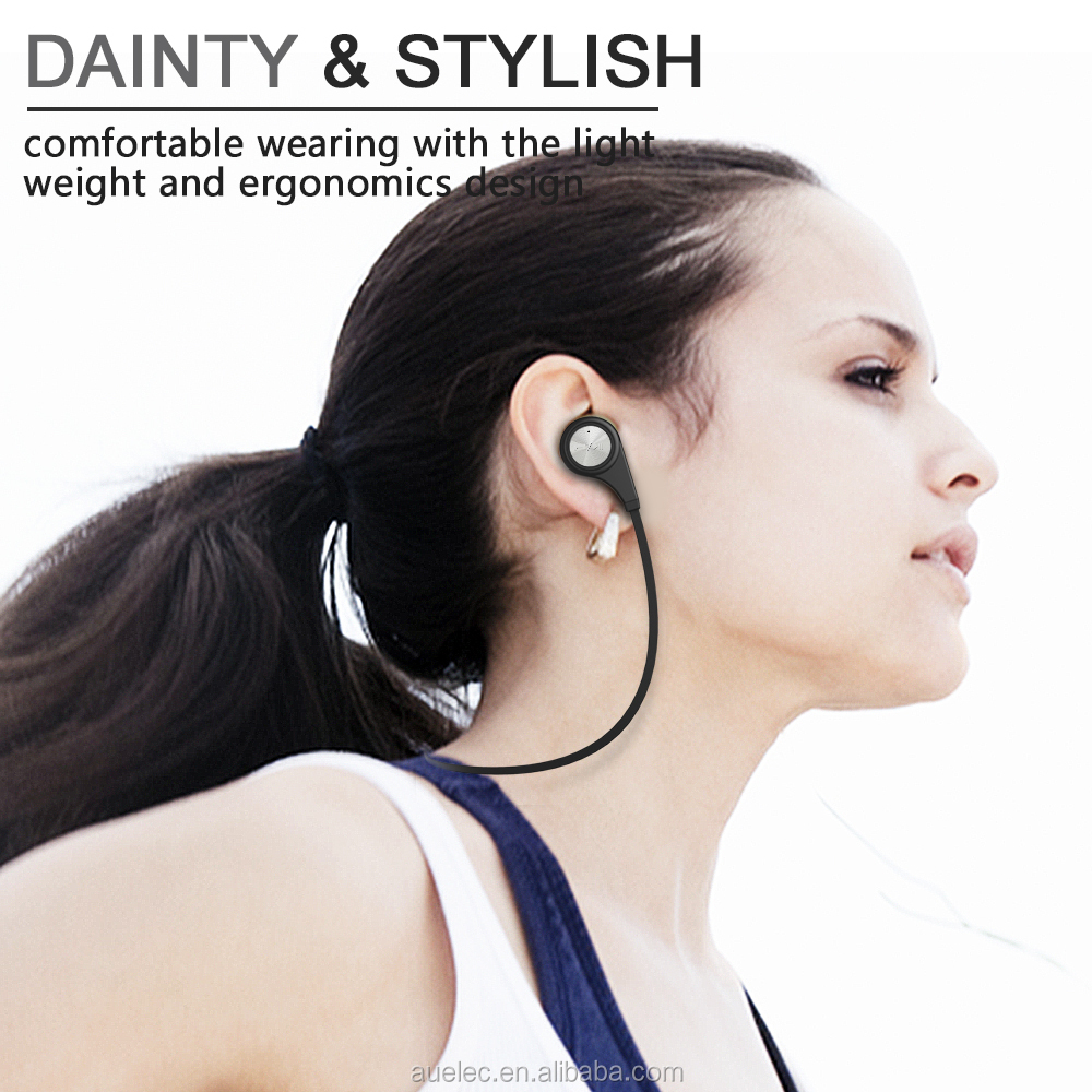 Wireless Earpiece Headphone For iPhone Samsung LG Earphone Stereo Bluetooth 4.1 Headset BTT-12