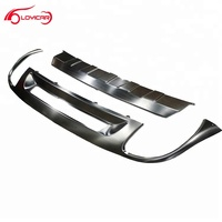 Car Stainless Steel Front Rear Bumper Skid Plates for VW Touareg
