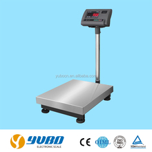 Commercial 150kg stainless steel electronic bench weight scale
