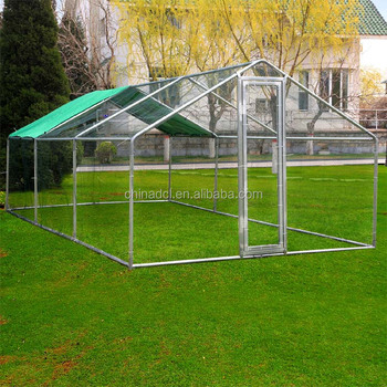 Large Metal En Coop Walk In Coops And Runs Backyard Hen House Farm Ranch Run Poultry Cage