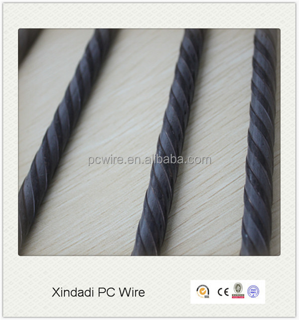 Hard Drawn Reinforcing Ribbed Wire
