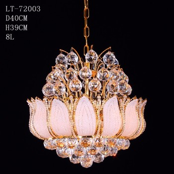 Mini Gold Crystal Chandelier Fancy Lights Fittings For Retro Restaurant
