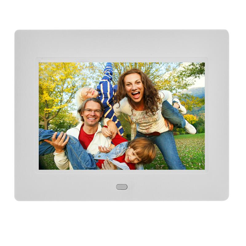 Fast delivery 7 inch digital photo frame for commercial gift