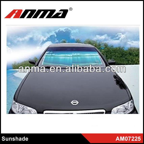 2012 hot sell Nylon front rear universal car sunshade car front window sunshade
