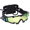 Halloween Toy Gift Childrens Adjustable Elastic Band Night Vision Goggles Glasses for Night Activities Water Gun