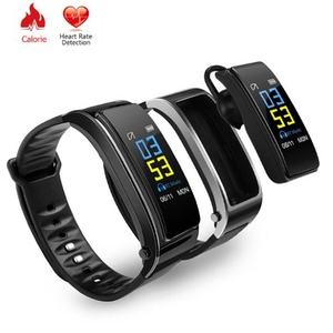Image of Bluetooth Y3 Color Headset Talk Smart Band Bracelet Heart Rate Monitor Sports Smart Watch Pedometer Fitness Tracker Wristband
