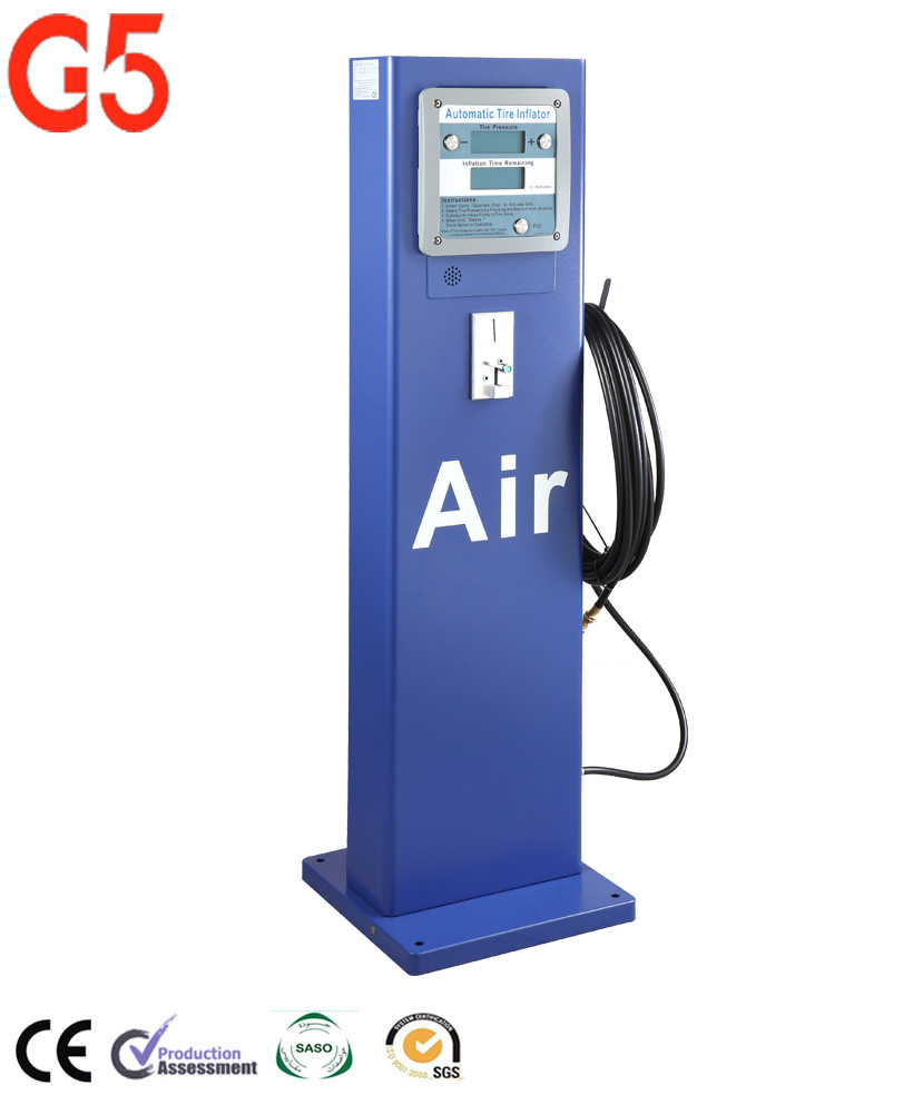 Coin-Operated Tire Air Machine, View g5 tire inflator, G5 Product Details  from Zhuhai EST M&E Equipment Co , Ltd  on Alibaba com