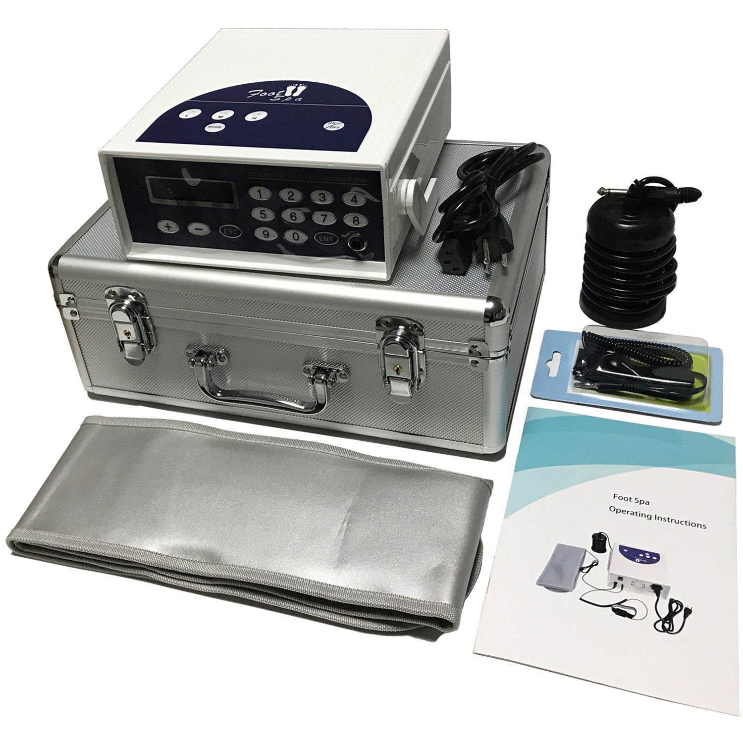 Buy Ionic Foot Detox Machine Ion Foot Bath Spa Chi Cell Cleanse Simple Easy To Use In Cheap Price On M Alibaba Com