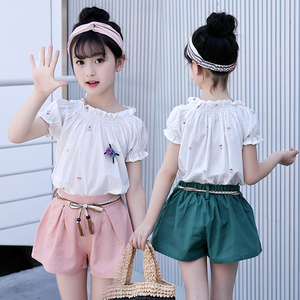 2019 Wholesale Children Boutique Clothes Kids Clothing Set Girls Summer Outfits