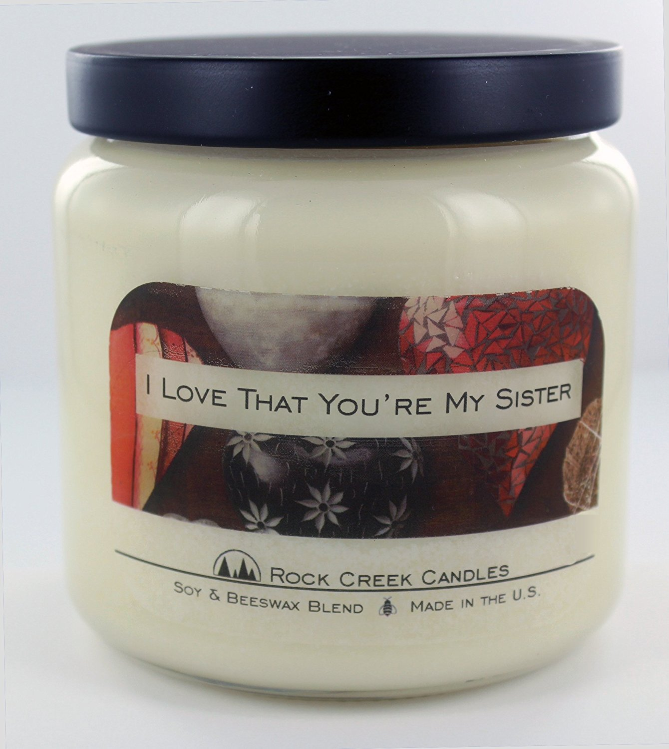 I Love That You're My Sister Cinnamon Spice 16oz Soy Candle