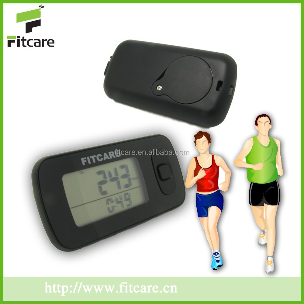 Promotional digital USB 3d pedometer; customized imprinted pedometer; sports step counter