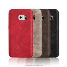 wholesale PU leather lattice back case mobile phone cover for samsung galaxy C5 C5000