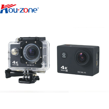 4k ultra-hd action cam 1080P Zoom Time Lapse Helmet camcorder DV Video wireless sport action camera 4k Remote control for choice