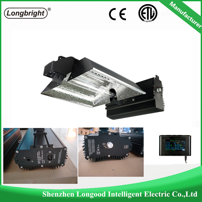 Factory direct supply 3 years warranty 1000w double ended dimmable hps grow light for hydroponic and Garden supply