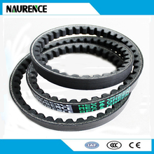 High quality CR material Raw Edge Cogged V-belts ,toothed v belt