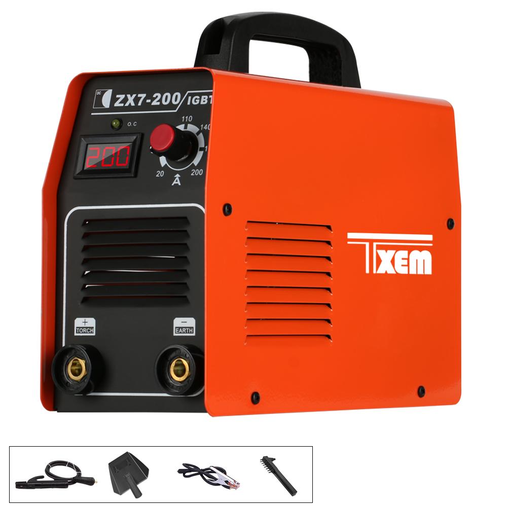 Igbt zx7-200 инвертор ручной дуговой сварки
