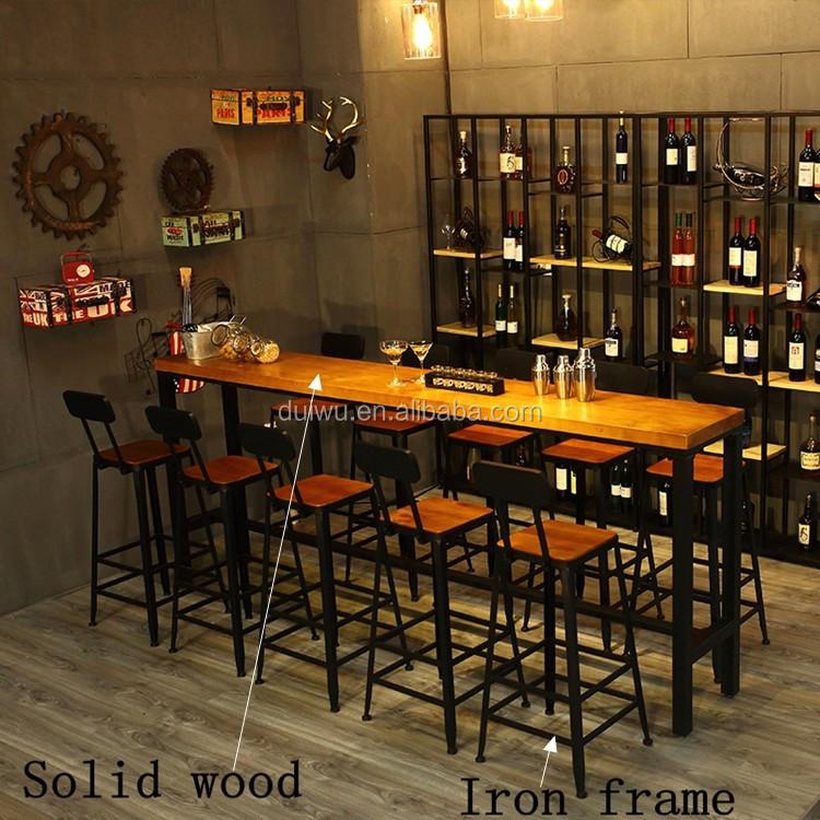 gro handel industrie bar m bel schmiedeeisen hohe tische und barhocker buy hohe tische und. Black Bedroom Furniture Sets. Home Design Ideas