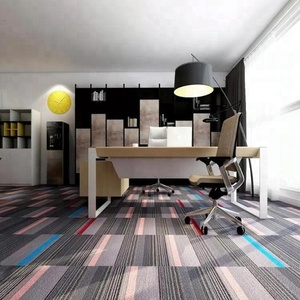 Nylon Carpet, office floor carpet tile 50x50