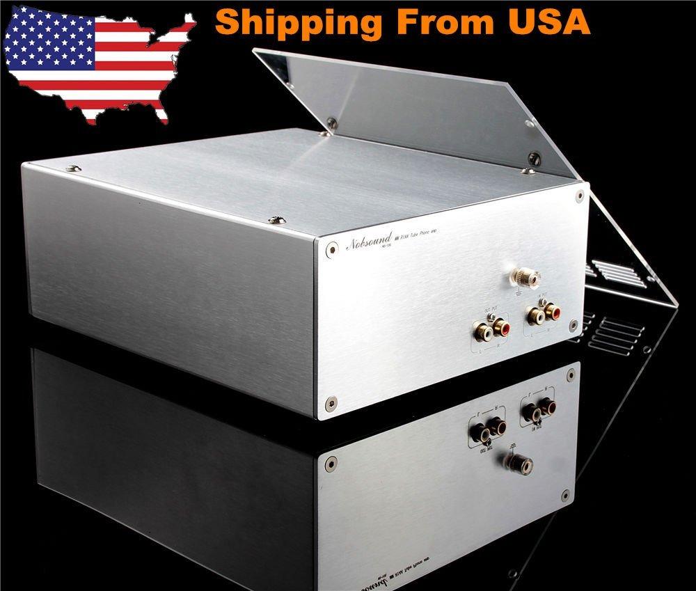 Douk Audio Nobsound 12AX7 MM Turntable RIAA HiFi Vacuum Tube Phono Pre-Amplifier