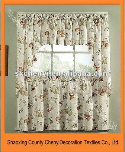 unico cafe cucina disegni decorativi finestra mantovane nel ... - Mantovana Per Cucina