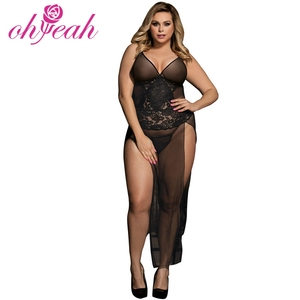 Hot Sexy Plus Size Babydoll Lingerie for Fat Women g strings