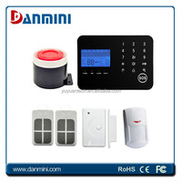 Factory directly offer LCD display personal alarm systems for home useage YA-702-GSM&PSTN