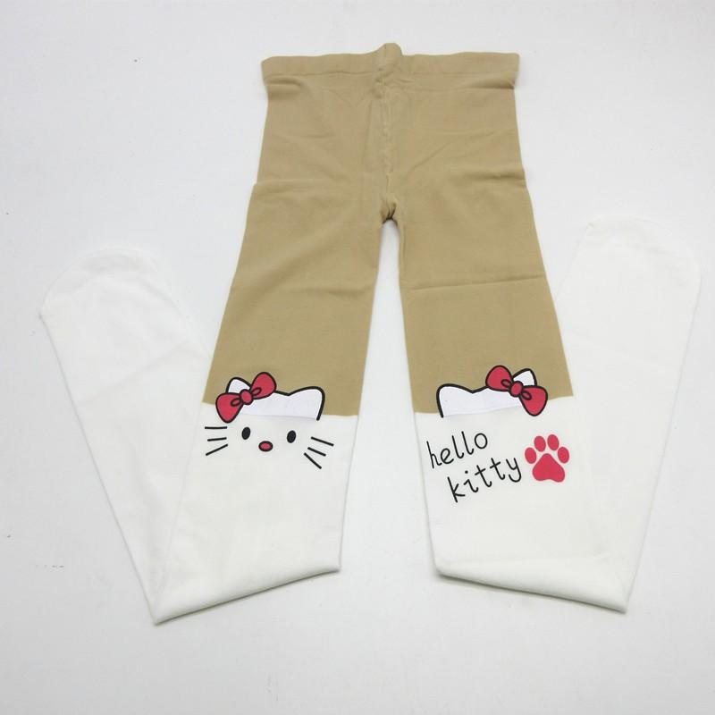 e8ff965e8 2019 2016 Kids Cute Pantyhose Tight For Girls Lovely Hello Bunny ...